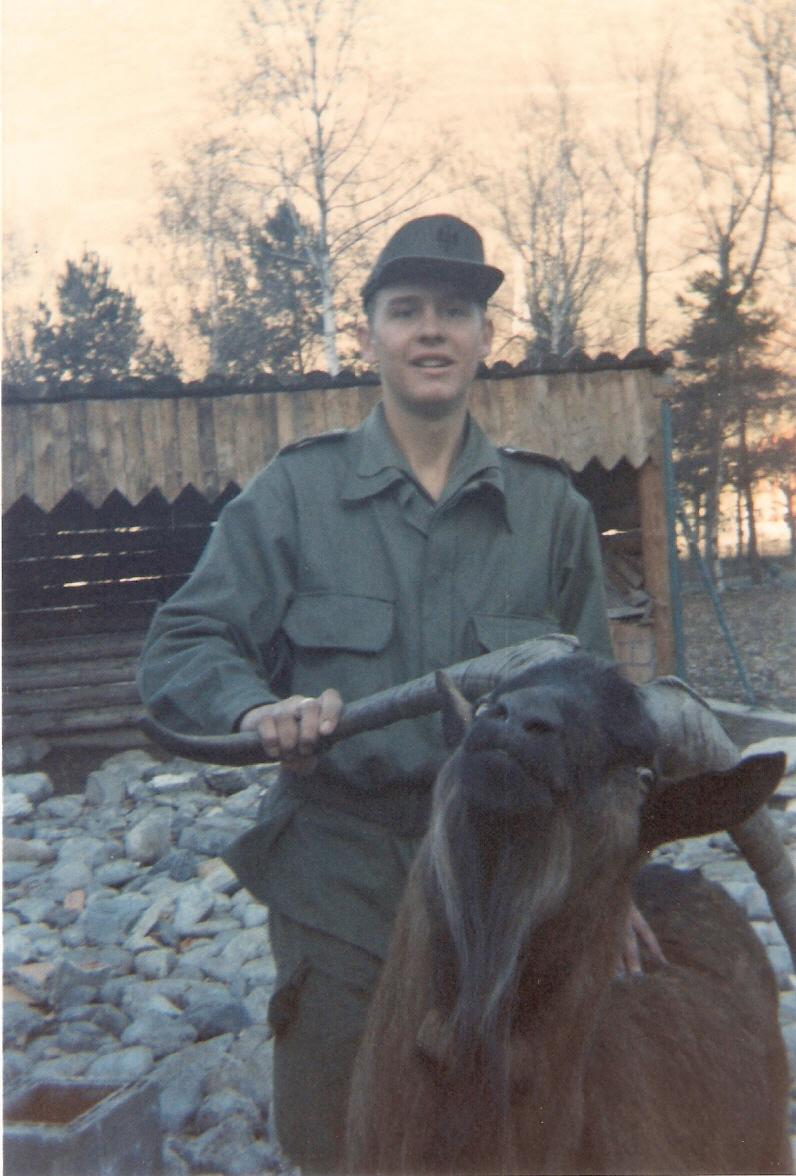 Nuestra cabra legionária...