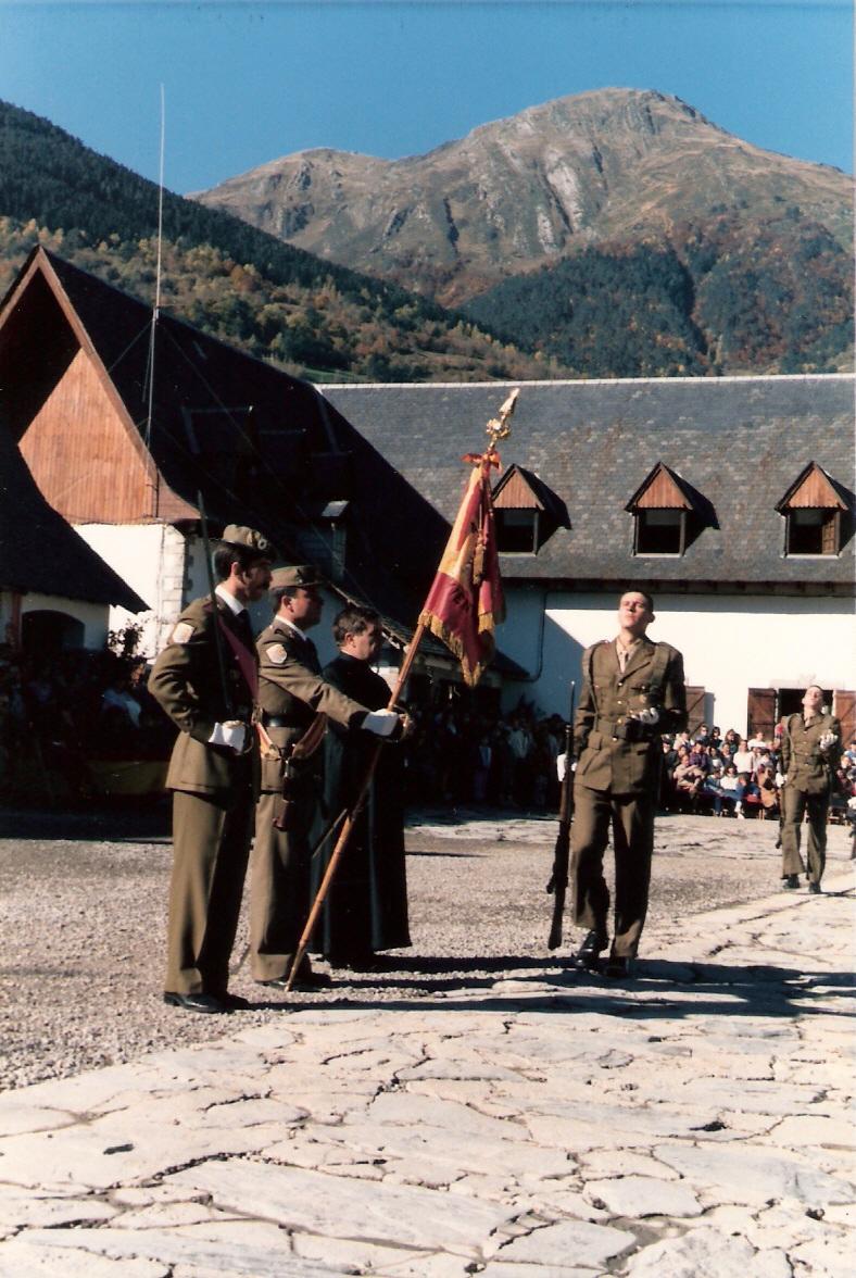 Jura de Bandera con el Montcorvisún al fondo