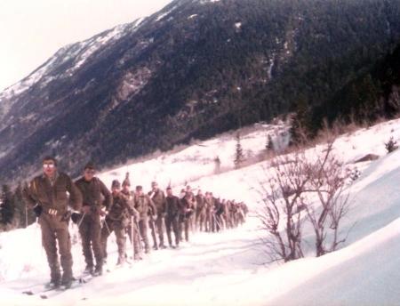 Toma de contacto con la nieve (una marcha de dia por el Valarties)
