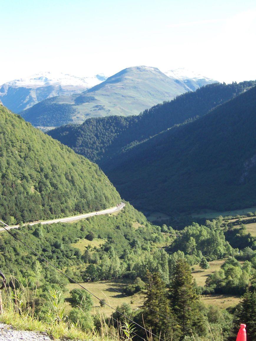 Valle del Nere, a su encuentro con Viella.