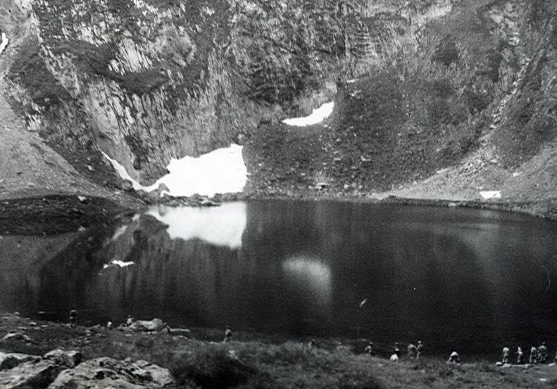 Baño en el lago de Escunyau