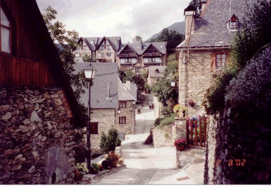 Esto es Bagergue, el pueblo más bonito que he visto en mi vida.