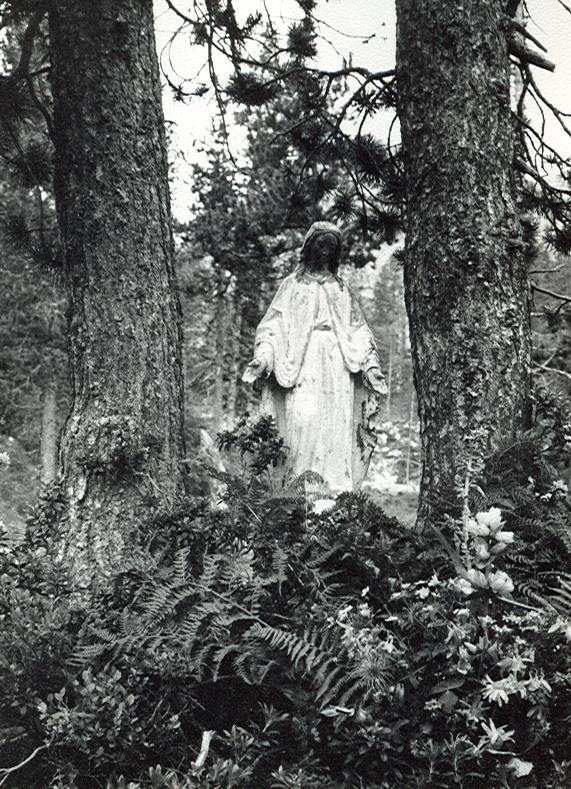 La imagen de la Virgen...