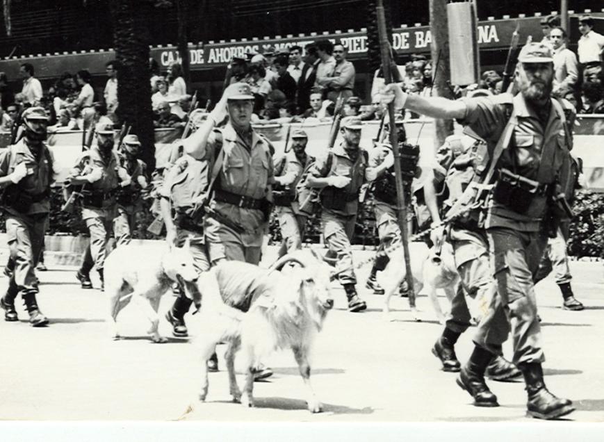 Desfile en Barcelona