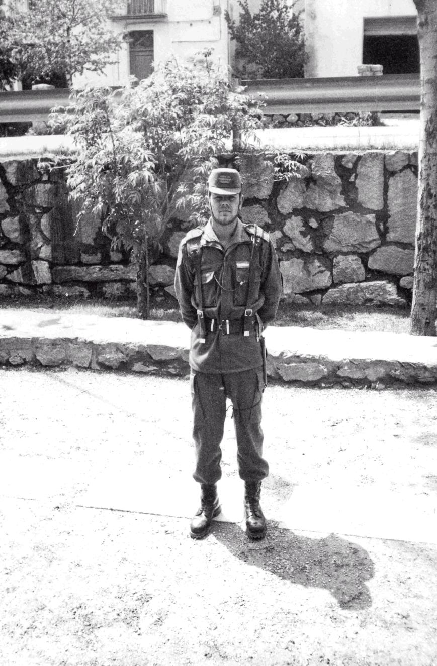 Mi primera guardia como Cabo.