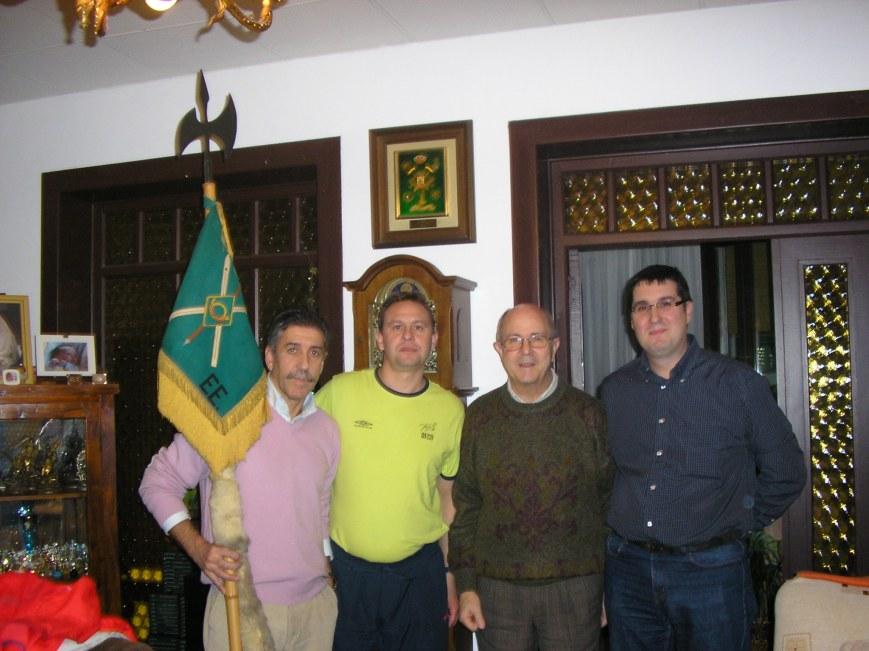 Junto a Roberto, Josemaria y Ignacio