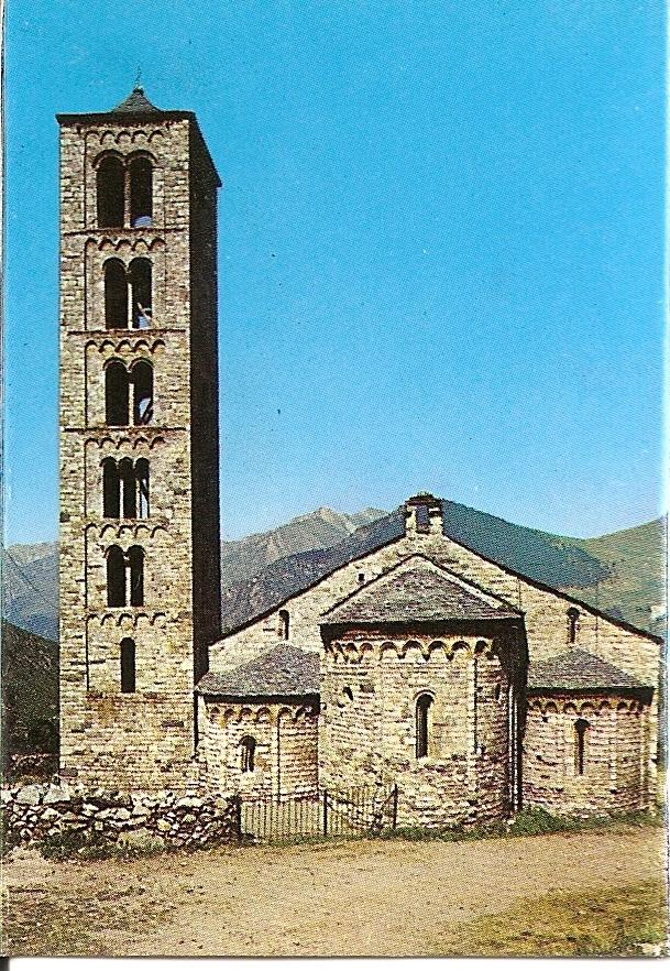 Tahull. Iglesia de San Clemente. Siglo XII