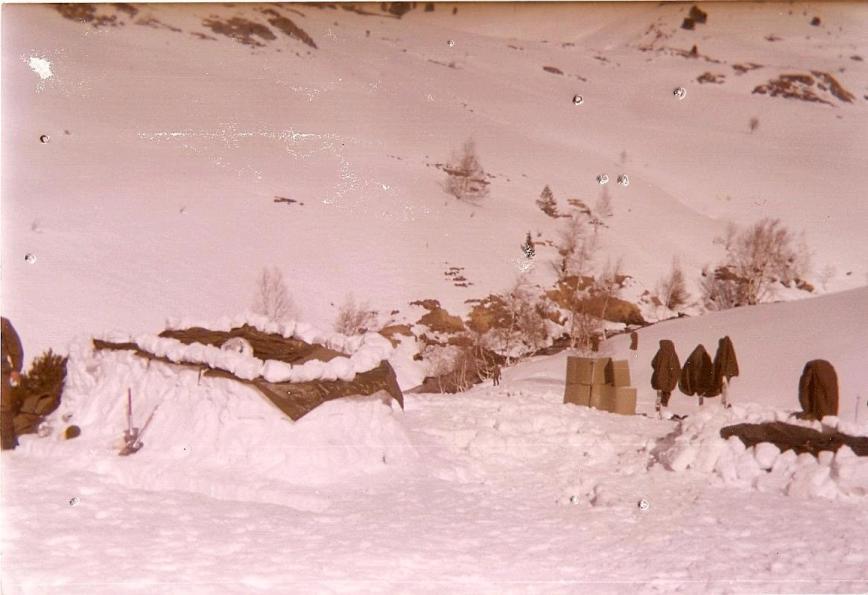 Maniobras de invierno en Montgarri.