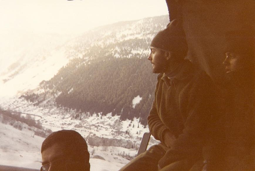 Viaje en camión a Baqueira durante el curso de esqui.