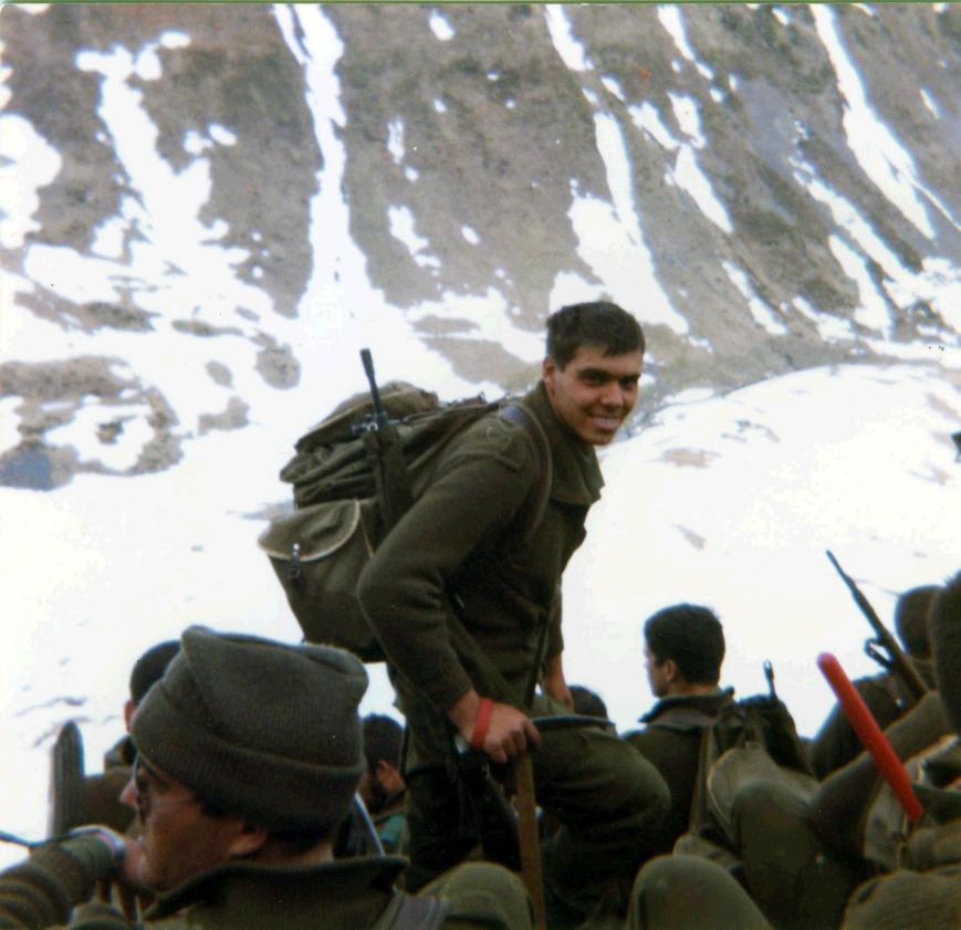 Un alto en una marcha por el barranco de Escunhau.