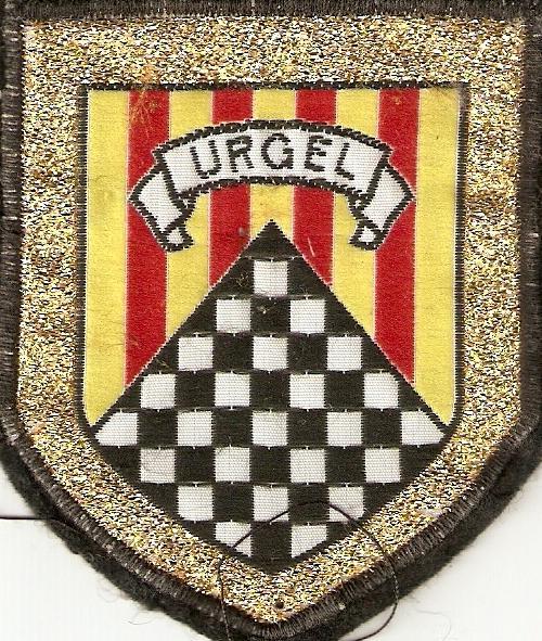 Emblema de la DIVISION DE MONTAÑA URGEL Nº 4