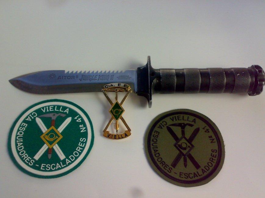 Mi viejo cuchillo, mi Cangrejo y dos adquisiciones recientes.