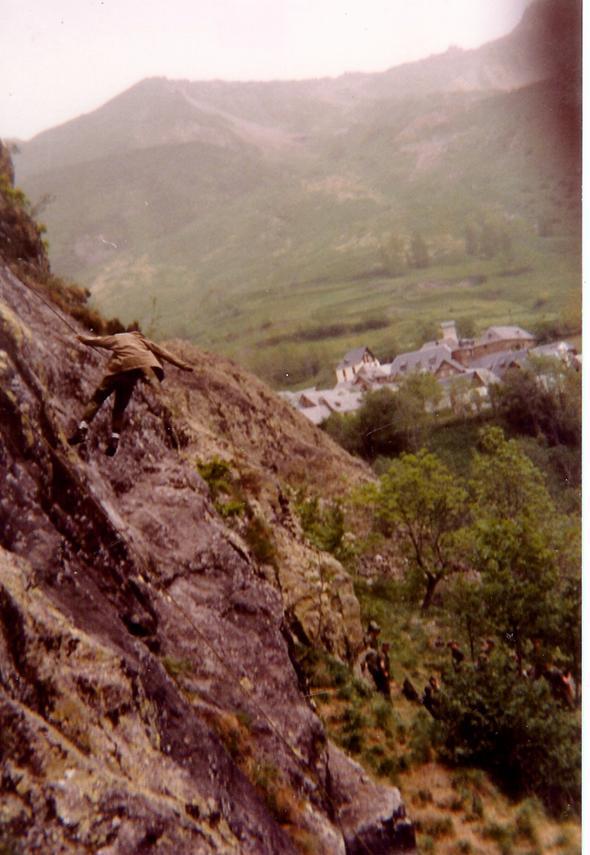 Rapelando en Bagergue
