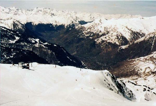 El Valle desde Baqueira