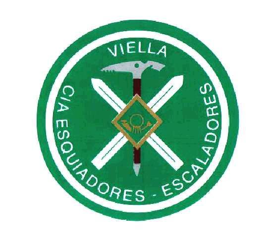 Escudo de Esquiadores Escaladores de Vielha