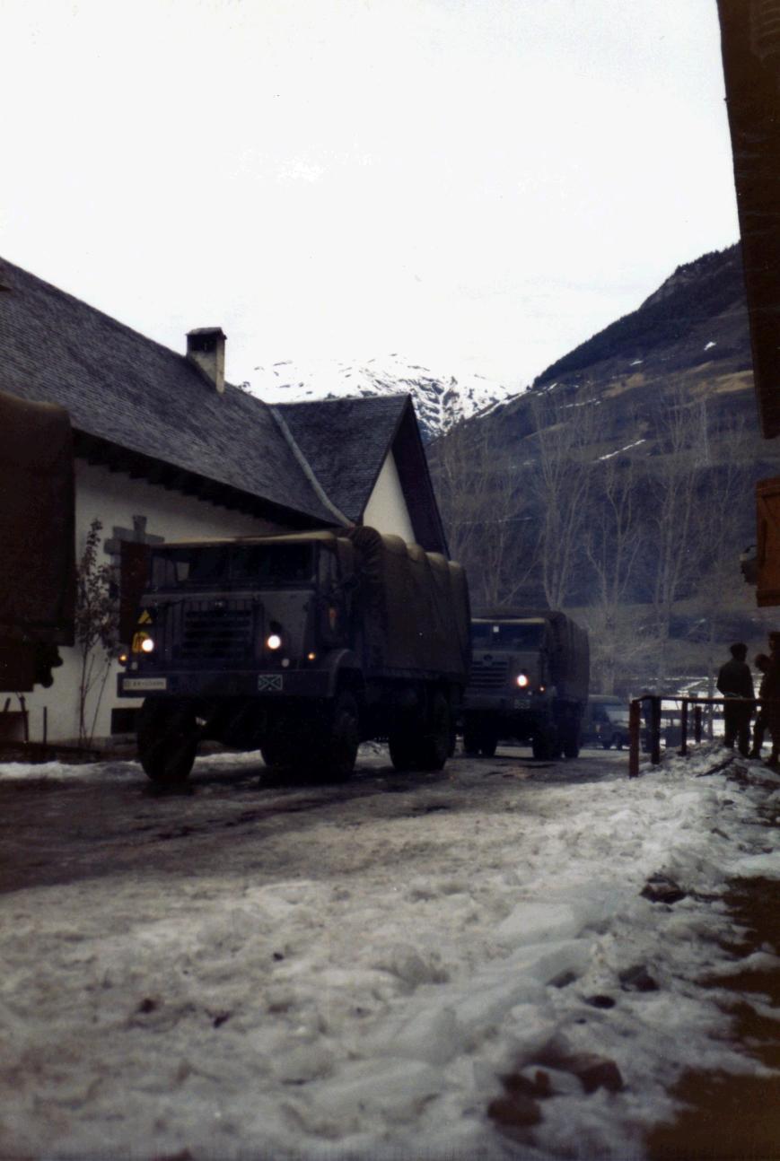 Camiones para Baqueira ¡Vamos a esquiar!