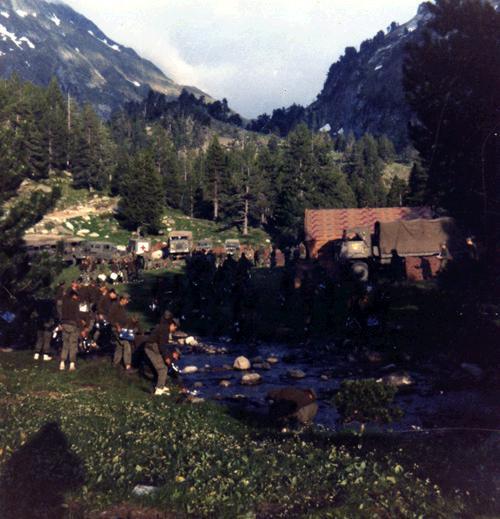 Campamento en Pla d'Estany