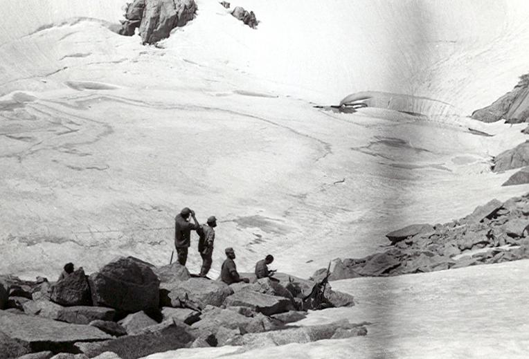 Descanso por encima del lago Mulleres
