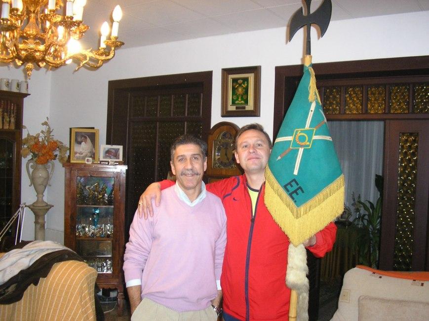Roberto Santaeufemia y Oscar Font.... 22 años después....
