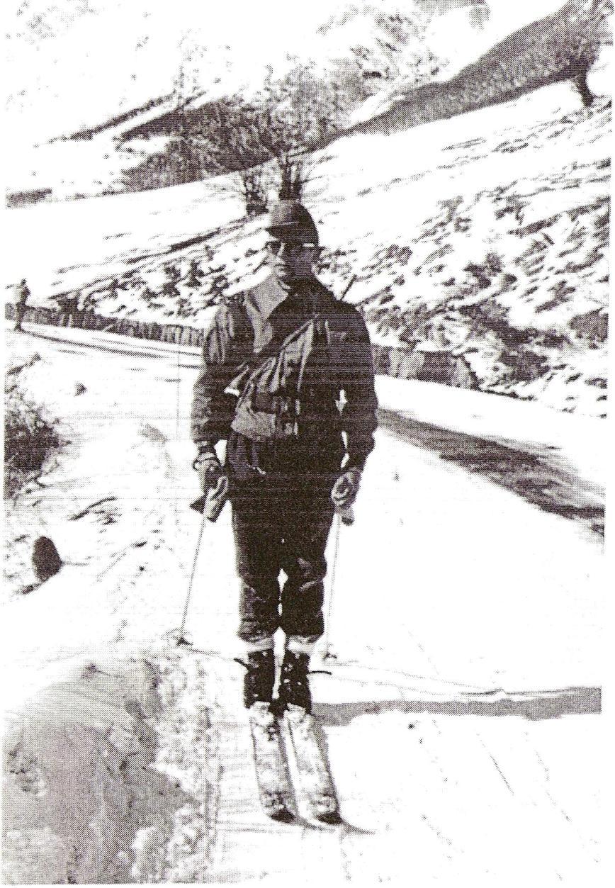 Descenso por la carretera desde el túnel de Viella en el año 1965.