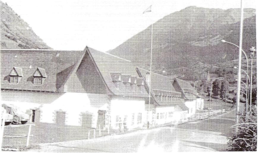 Vista de la Compañia en el año 1964.