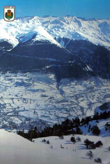 1982-83 Viella en pleno invierno.