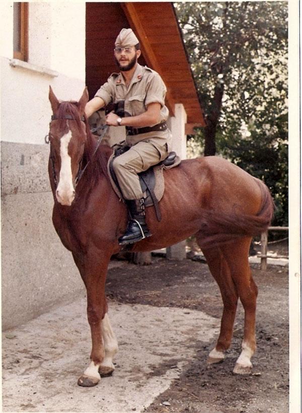 "El caballo del Capitán. ""Maral"""