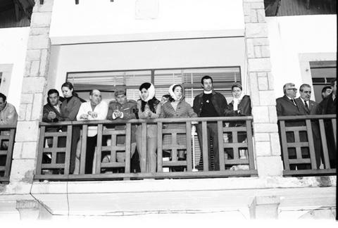 1965. Balcón del Ayto. de Vielha