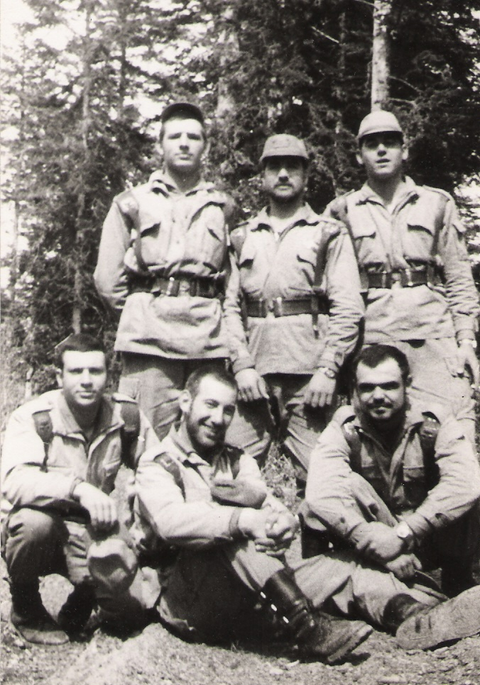 Carlos Ramirez, Jose´Rojas, Carlos Cortés, Joan Sentis, Delarubia y Bustos