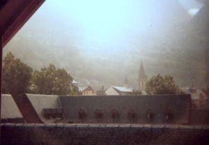 Vista desde la biblioteca