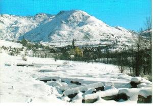 Aspecto invernal de Salardú