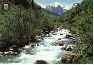 Paisaje de la Artiga de Lin y rio Joeu