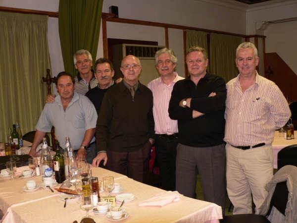Encuentro en la Panadella el 25-4-09 visita del Capitán Ponz, lástima que los amigos Velez, Crespo y Martinez Juesas, ya se habian tenido que ir