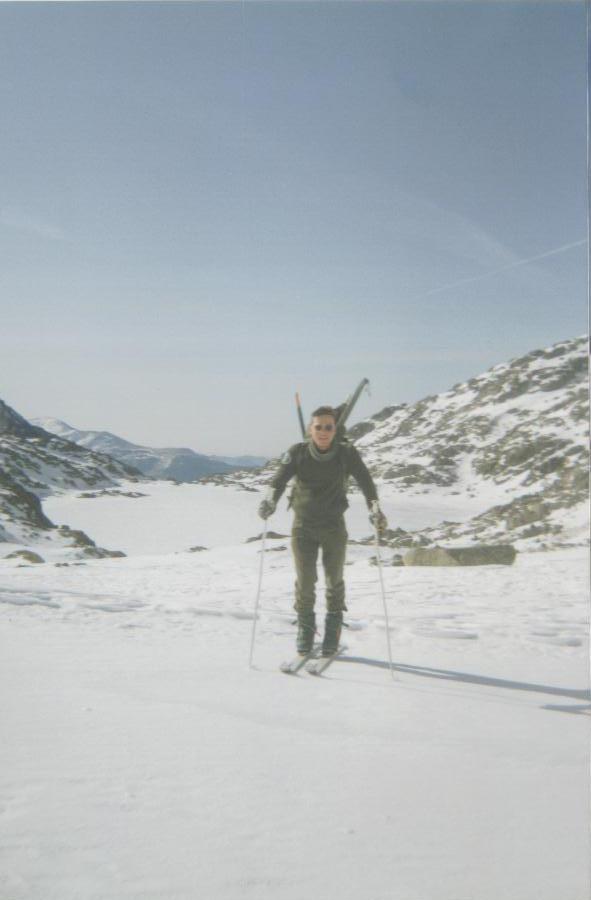 Maniobras de Invierno. Subida al Tuc de Montarto. 25/02/93