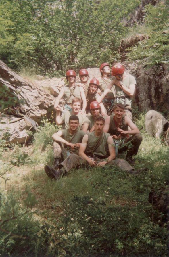 Escalada Vilac, verano 1993