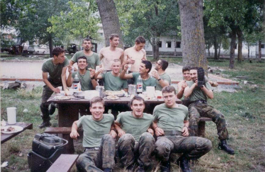 Segunda comida de la Sección. 12/08/1993