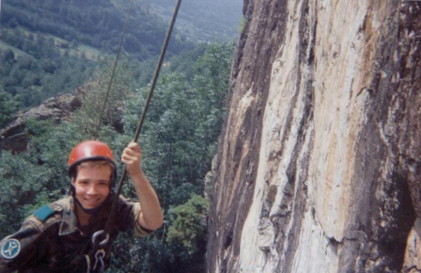 Rapel en Bagergue. 24/08/1993