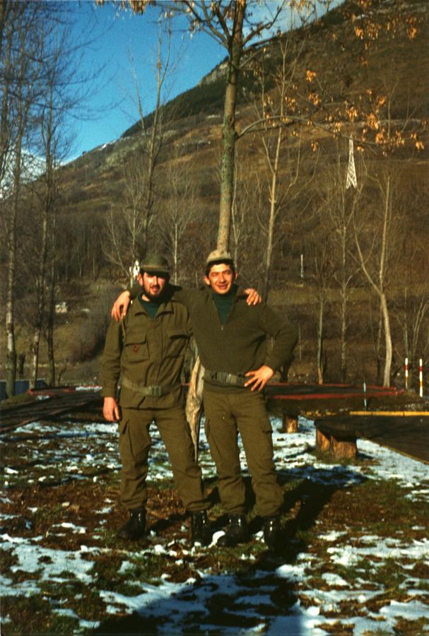 Un amigo y yo, en esta foto el importante es el amigo...
