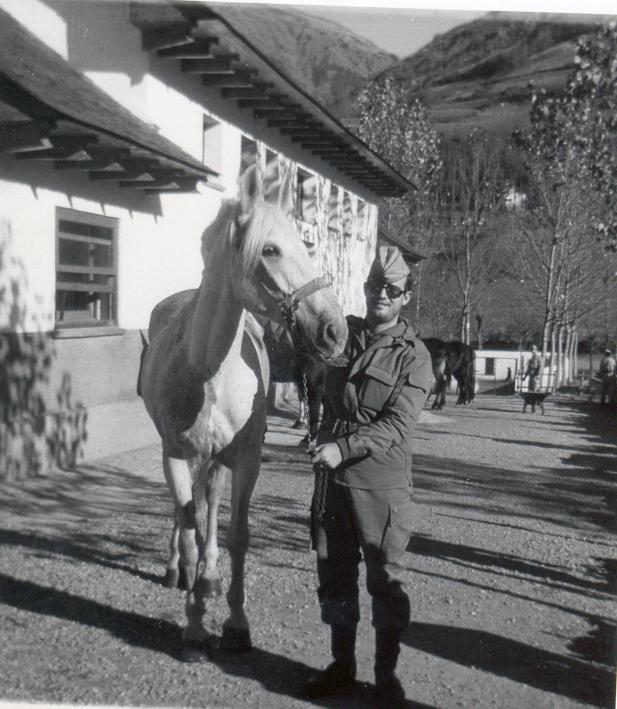 la consabida con el caballo