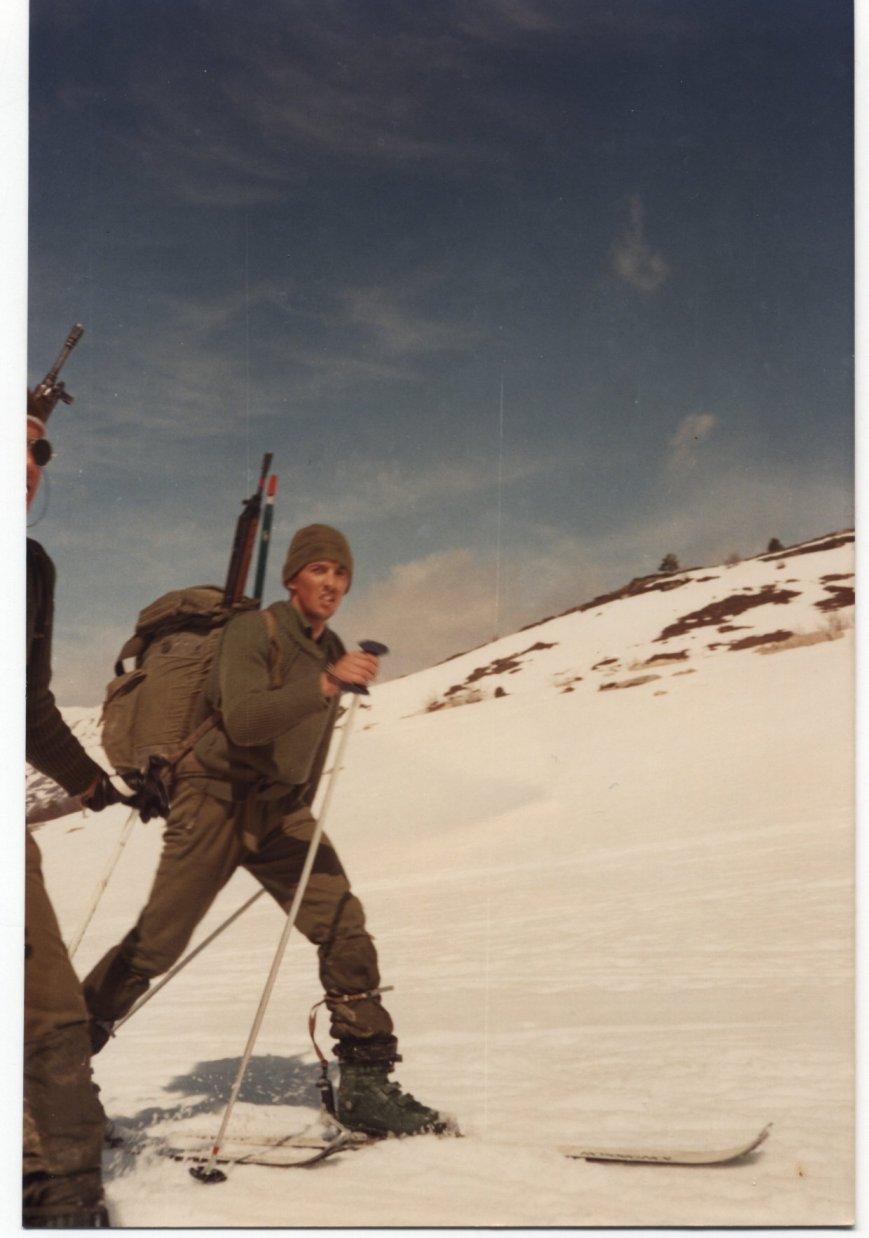 Durante el ejercicio de patrullas.
