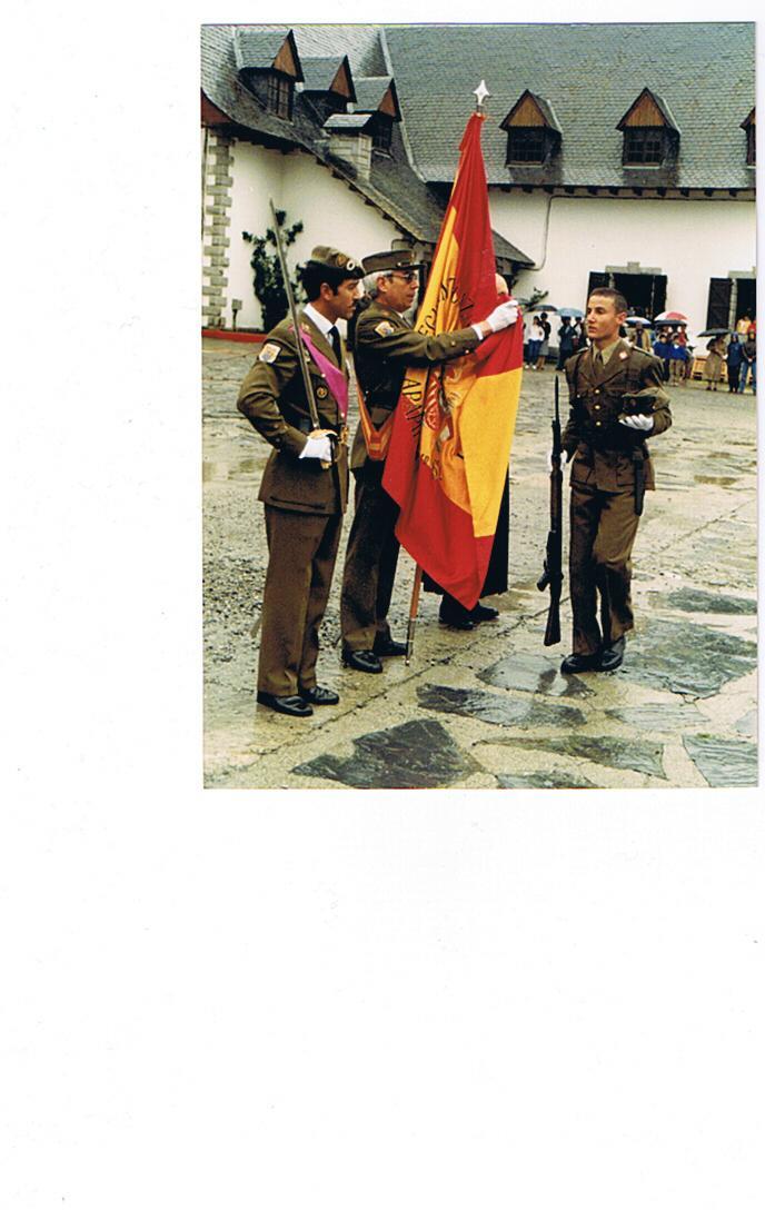 Jura de Bandera en la misma Cia.