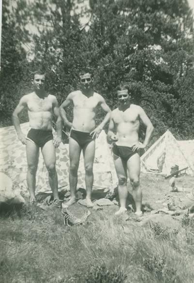 16 de Julio de 1966, acampada debajo del Puerto de la Bonaigua.