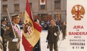 Jura de bandera en Tarragona