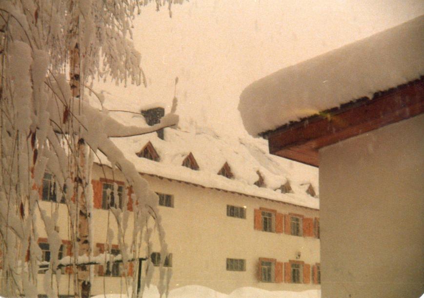 Invierno del 81, ¡Vaya nevada!
