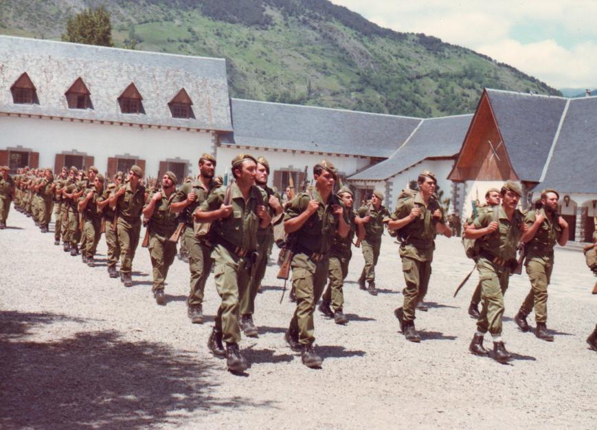 La Sección del Teniente Alba.