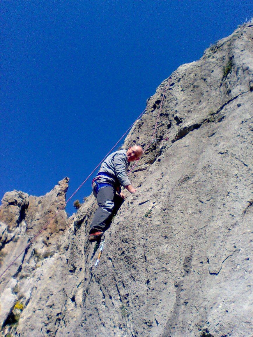 Tanteando la roca...