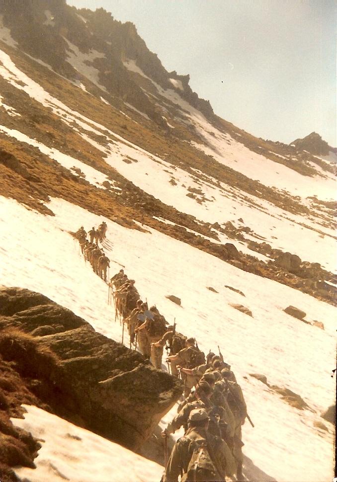 21 de Junio de 1979, ascensión al Montarto.