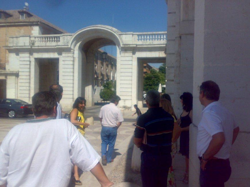 Luego un paseo por Aranjuez, a que nos diera una insolación en plan legionario