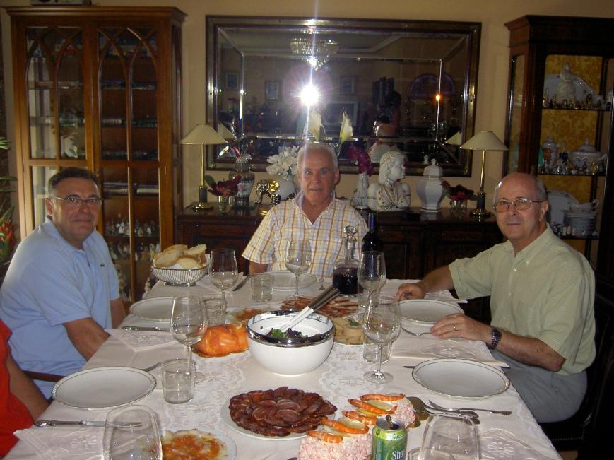 Tres veteranos