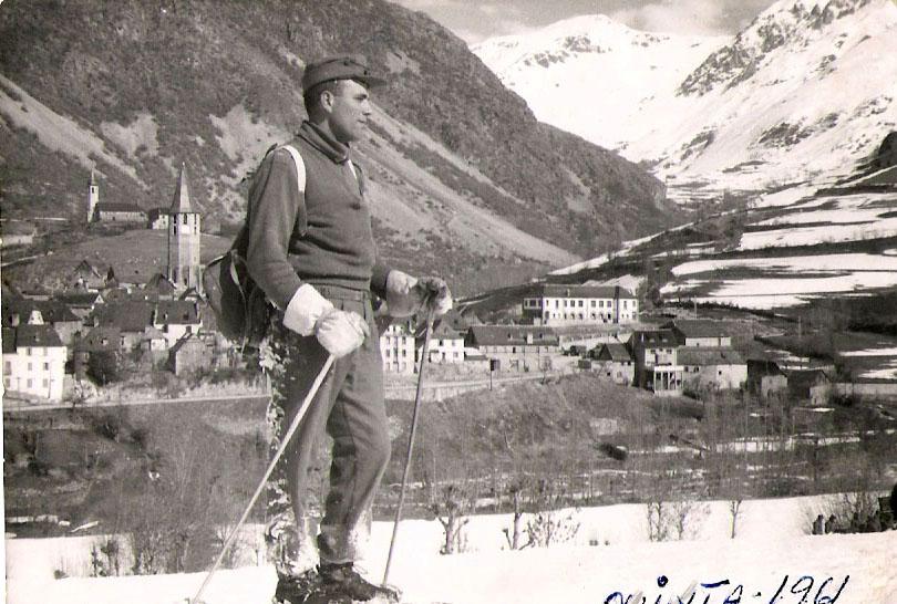 La prestancia del esquiador de Viella